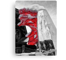 Canada Ice Canvas Print