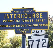 Pennsylvania Town of Intercourse by enyaw