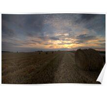 Rural Sunset Poster