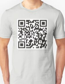Quirky Geeky QR Code T-Shirt