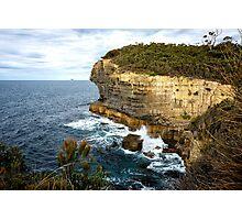 Sea Cliff, Eaglehawk Neck, Tasmania Photographic Print