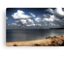 Long Beach, Sag Harbor Canvas Print
