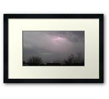 Storm Chase 2011 2 Framed Print