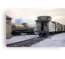 The Caboose - Smith's Falls Railway Museum, Ontario Canvas Print