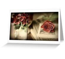 My Beloved's Roses Greeting Card