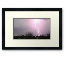 Storm Chase 2011 6 Framed Print