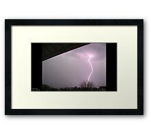 Storm Chase 2011 9 Framed Print