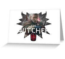 The Witcher 3 Greeting Card