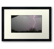 Storm Chase 2011 14 Framed Print