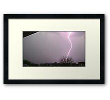 Storm Chase 2011 15 Framed Print