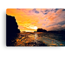 GOLD COAST SUNSET Canvas Print