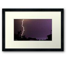 Storm Chase 2011 34 Framed Print