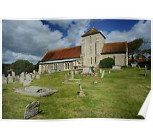 Rottingdean Church, Sussex, England Poster