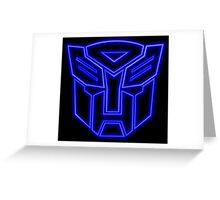 Transformers - Autobots Greeting Card