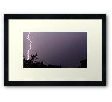 Storm Chase 2011 38 Framed Print