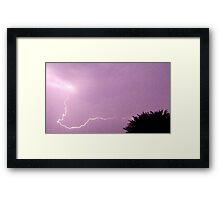 Storm Chase 2011 40 Framed Print