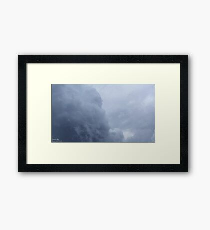 Storm Clouds 4 Framed Print