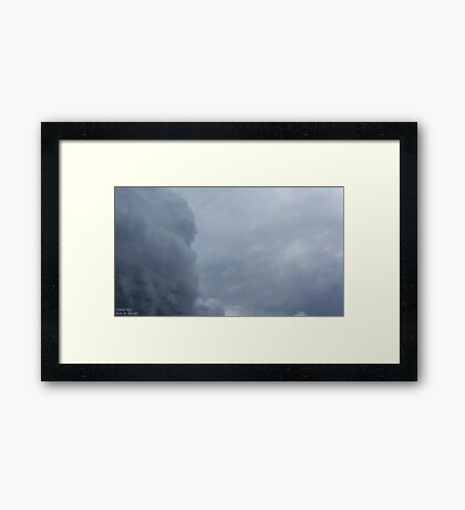 Storm Clouds 2 Framed Print
