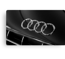 Audi Emblem Canvas Print