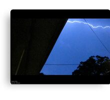 Storm Chase 2011 63 Canvas Print