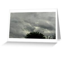 Storm Chase 2011  Greeting Card