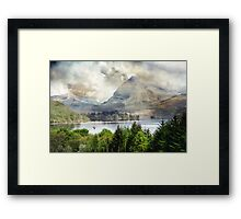 Elements of Given Space. Framed Print