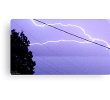Storm Chase 2011 81 Canvas Print