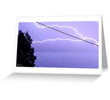 Storm Chase 2011 81 Greeting Card