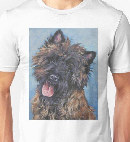 Cairn Terrier Fine Art Painting Unisex T-Shirt