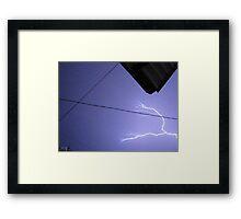 Storm Chase 2011 97 Framed Print
