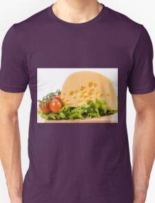 cherry tomatoes and yellow cheese Unisex T-Shirt