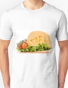 cherry tomatoes and yellow cheese Unisex T-Shirt