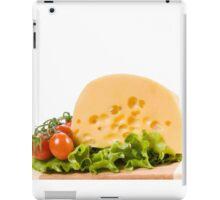 cherry tomatoes and yellow cheese iPad Case/Skin