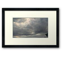 Storm Chase 2011 107 Framed Print