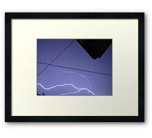 Storm Chase 2011 110 Framed Print