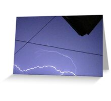 Storm Chase 2011 110 Greeting Card