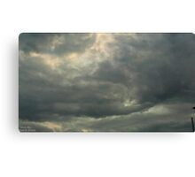 Storm Chase 2011 111 Canvas Print