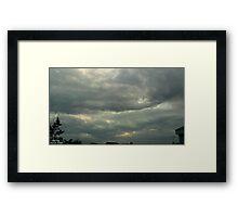 Storm Chase 2011 113 Framed Print