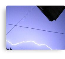 Storm Chase 2011 114 Canvas Print