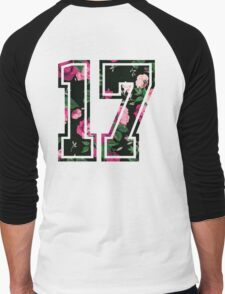 Floral 17 Men's Baseball ¾ T-Shirt