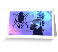 How I met your Spartan. Greeting Card