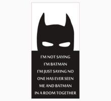 Batman Quotes Kids Clothes