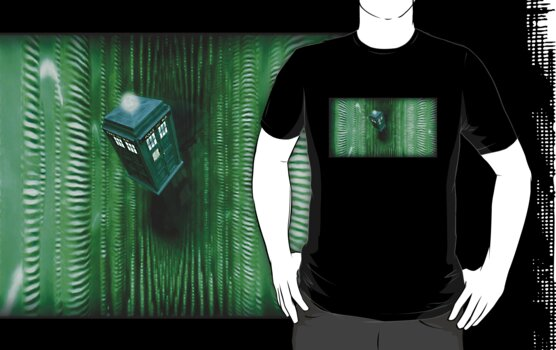 Doctor Who Vs The Matrix by PheromoneFiend