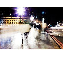 City Ghosts Photographic Print