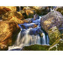 River Flows Photographic Print