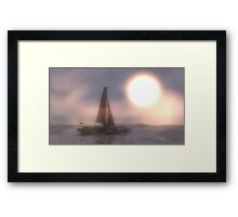 To new horizons Framed Print