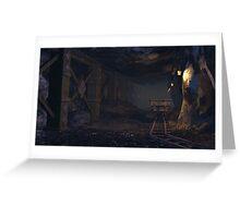 A dwarven mine Greeting Card
