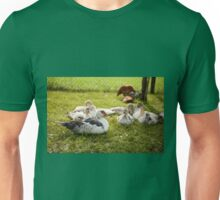 Muscovy Duck young birds group Unisex T-Shirt