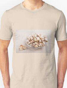 pistachio nuts in shell lying T-Shirt