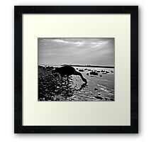 Inclined Framed Print